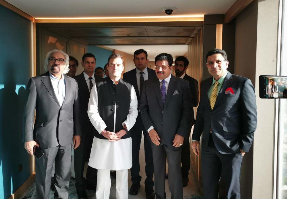 Bahrain businessman meets Indian leader