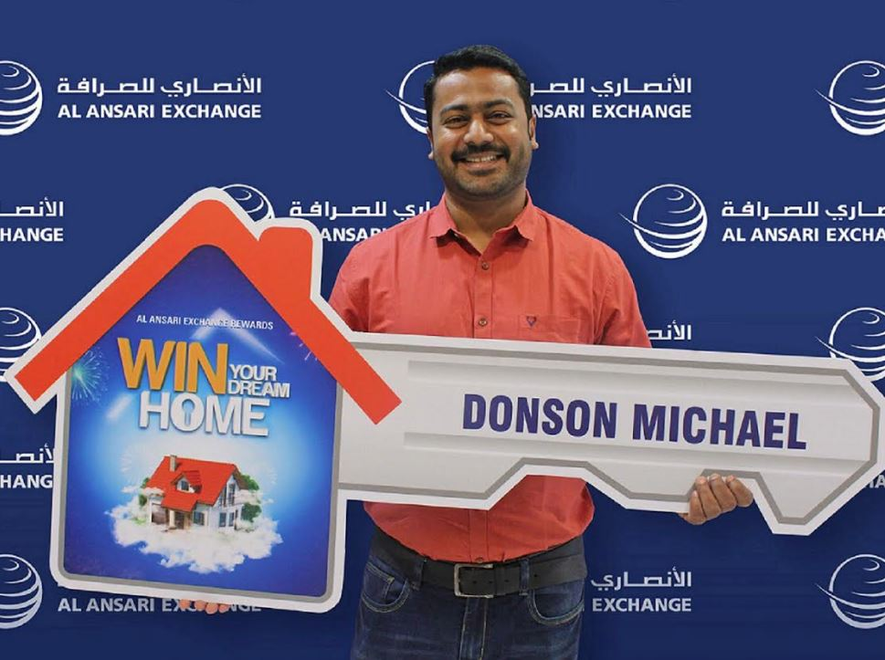Indian wins 'Dream Home' grand prize worth AED 400,000