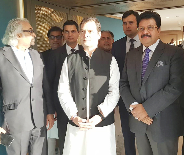 <p><em>Mr Kurian and Mr Gandhi during their meeting.</em></p><p>Bahrain-based AL Namal and VKL Group chairman Varghese Kurian met Indian National Congress president Rahul Gandhi in Dubai. Mr Gandhi met business leaders at an interactive meeting organised by the Indian Business and Professional Council. The programme included a cultural festival to mark 2019 as the 150th birth anniversary of Mahatma Gandhi and celebrate strong ties between the UAE and India.</p>