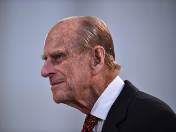 Prince Philip unhurt after road accident