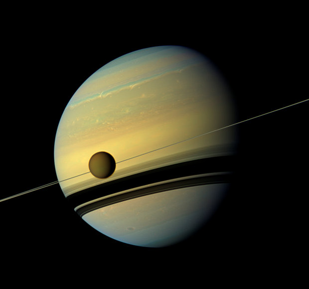 Saturn's rings are younger than the planet itself