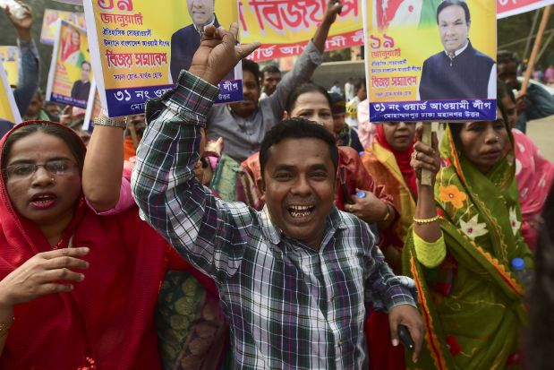 Bangladesh PM: Will work for all
