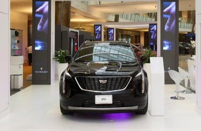 Cadillac showcases new XT4 model at Kuwait motor show