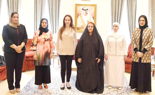 Women's strides hailed