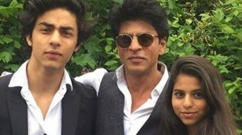 SRK's son Aryan's Facebook hacked