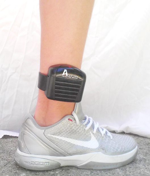 Ankle monitor first as alternative to prison