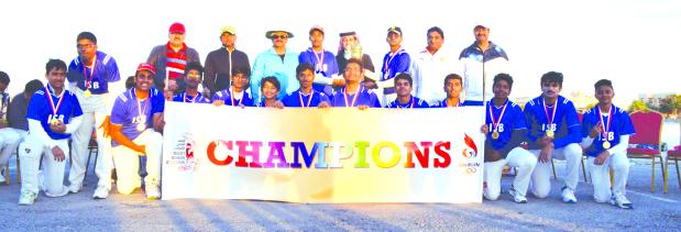 Indian School win under-16 championship
