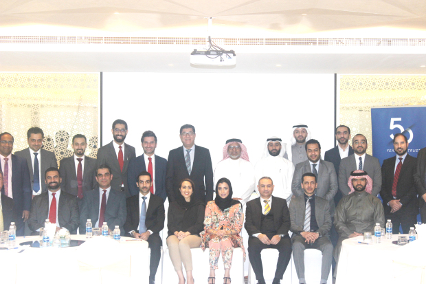 <p>KPMG Bahrain awarded certificates of completion to 20 selected professionals from Bahrain's banking industry on completion of the Waqf Fund CFO Grooming Programme Technical Module delivered by KPMG in November 2018.</p> <div></div> <div>This comes as part of the Waqf Fund's CFO Grooming Programme, which aims to groom the next generation of C-suite executives in the Islamic banking industry.</div> <div></div> <div>The 10-day intensive training programme covered a range of technical topics relevant to the chief financial officers of today, including: How to transition to the role of a CFO?, Digital Finance and Fintech, Basel and the CFO. CFOs from multi-national and regional banks shared their valuable experience.</div>