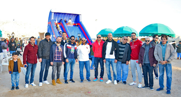 <p><em>Employees at the camp</em></p> <p>Al Salam Bank Bahrain held its annual Winter Camp for employees at Sakhir. The event featured activities for children and adults, a raffle draw with prizes, horse-riding, face-painting, along with games and rides for children. Above, employees at the camp and right, some of the children who took part in a competition.</p>