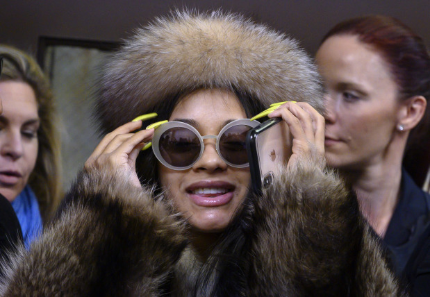 Cardi B appears in Queens court over strip club brawl