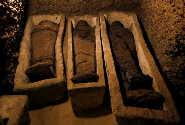 PICTURES: Egypt unveils Pharaonic tomb, home to 50 mummies