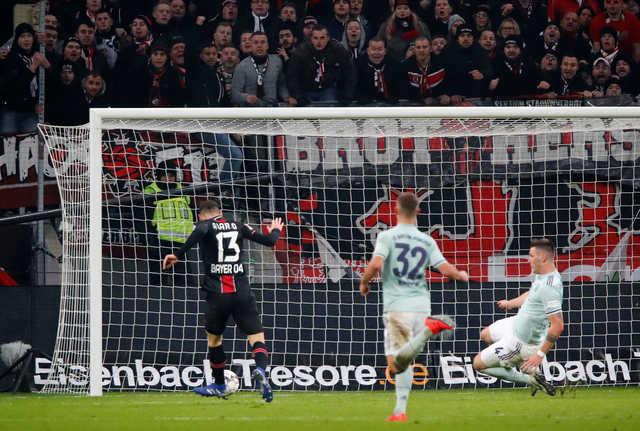 Bayern slip to third with Leverkusen 1-3 setback