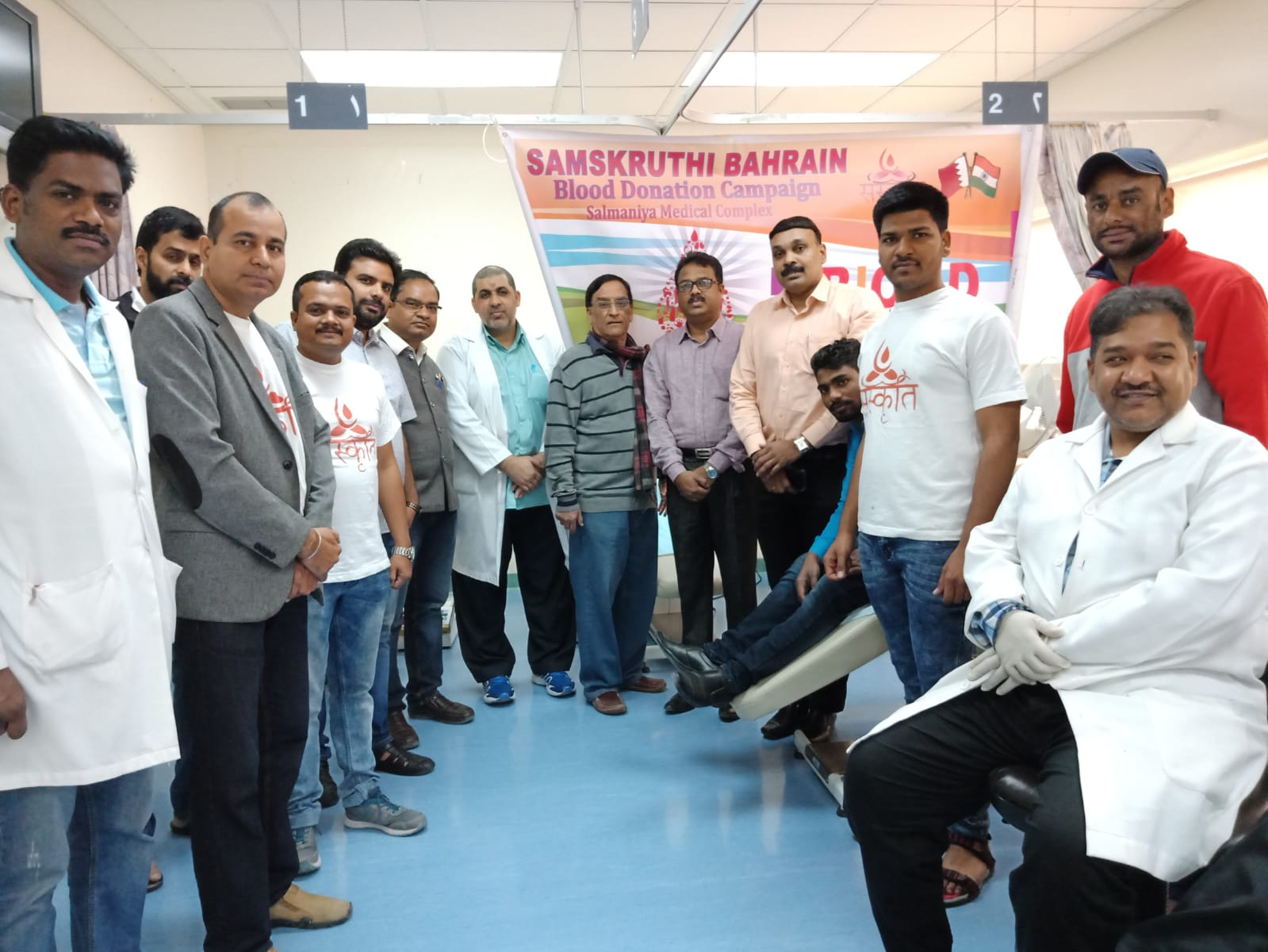 <p>More than 140 people donated blood at a camp held at Salmaniya Medical Complex last week. The event, organised by an Indian community organisation Samskruti, saw participation from members and volunteers. The blood collected was donated to the hospital's blood bank.</p>