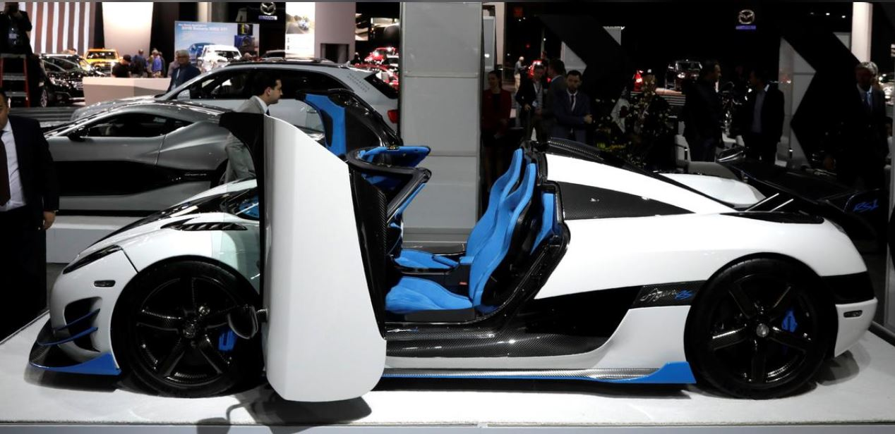 Koenigsegg super cars team up with Saab successor to go electric