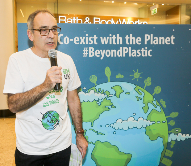 <p><em>British Ambassador Simon Martin speaking at the event</em></p> <p>An event to raise awareness on the dangers of plastic was held yesterday at City Centre Bahrain.</p> <div>British Ambassador Simon Martin gave a talk on the importance of protecting theenvironment,while shedding light on the importance of reducing plastic waste and its effect on the ecosystem. <div></div> <div>The event was organised by the British Embassy as part of its environmental week activities in partnership with the Supreme Council for Environment, the Environment Friends Society, Rotaract Bahrain, Global Shapers Manama Hub and City Centre Bahrain.</div> <div></div> <div>It also included craft activities for children and adults, storytelling in English and Arabic, and awareness sessions on climate change and the environment.</div> </div> <p><em><br /></em></p>