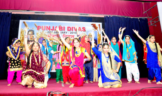 <p><em>Students performing at the event</em></p>