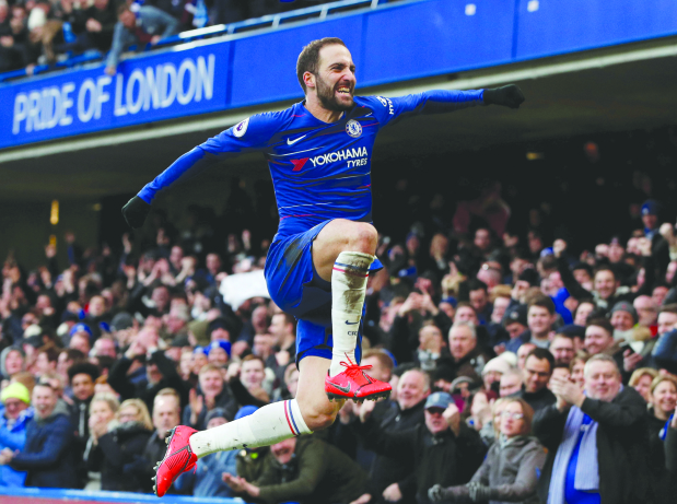 Chelsea back in race for top four