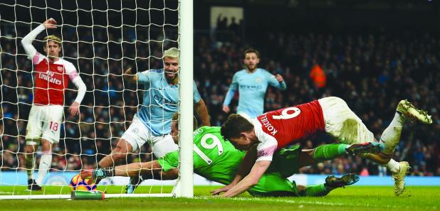 Premier League: Man City sail past Gunners; Rashford nets United winner against Leicester
