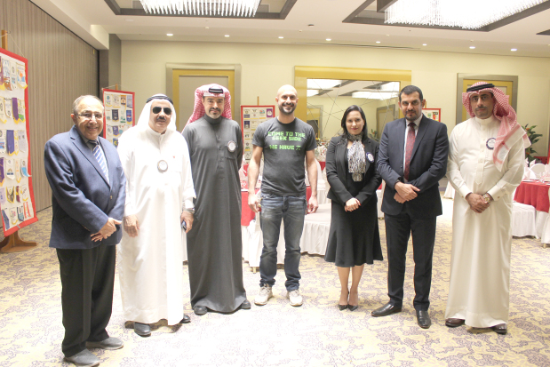 """<p><em>Mr Fakhro, centre, with club members</em></p> <p>Bahraini entrepreneur Hamed Fakhro was the guest speaker at a regular lunch meeting of the Rotary Club of Salmaniya.</p> <div>He spoke about """"Inventing 101"""", briefing the audience about his successes and failures in his attempts to invent a commercially successful product.</div> <div></div> <div>Besides intellectual property, his talk covered concept, design, prototyping, fundraising, manufacturing, distribution, marketing, quality control, sales and luck – which he noted were """"crucial ingredients to success"""".</div> <div></div> <div>Mr Fakhro is currently working on the redesign of his main success, Puffie, the portable folding cart which saw some good sales on Amazon in the US but had durability issues.</div> <p><em><br /></em></p>"""