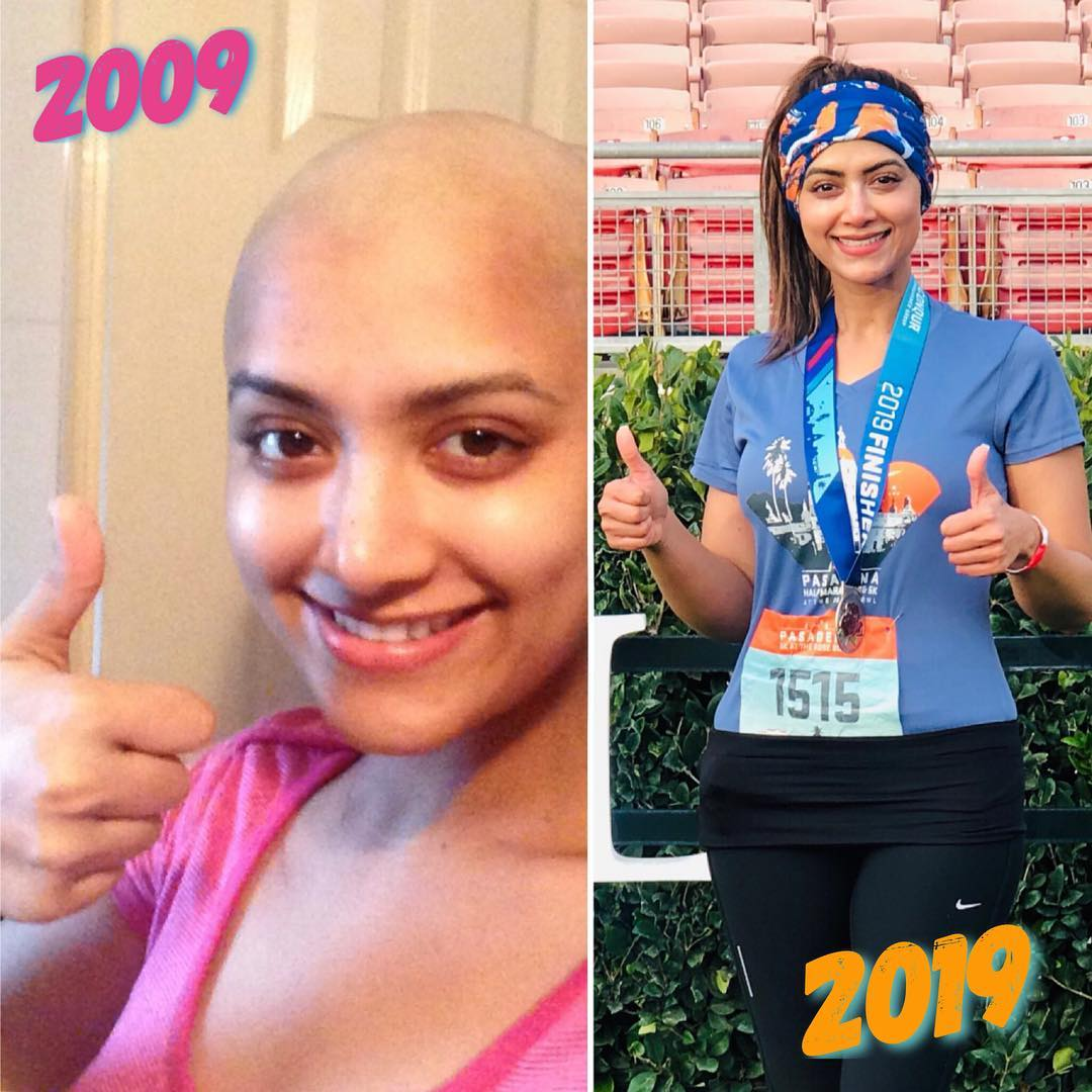 Cancer survivor Mamta's 10-year challenge - recognising her own strength