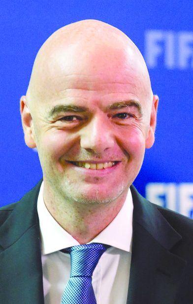 Infantino set for second term as Fifa boss