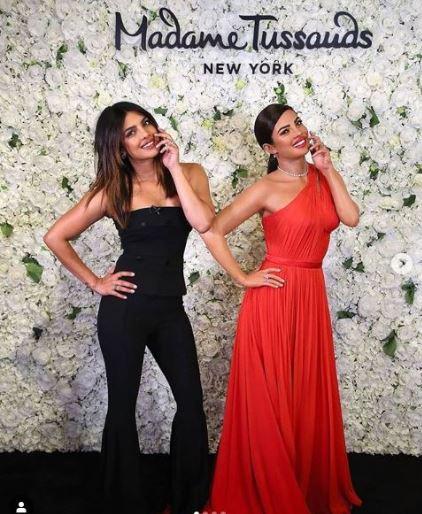 Priyanka Chopra gets first post marriage statue at Madame Tussauds New York