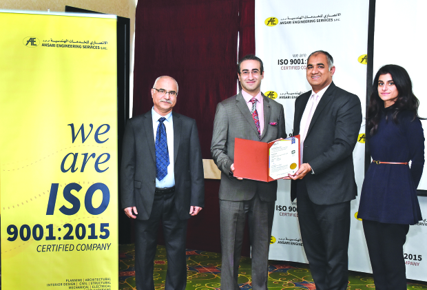 Major ISO certification for Ansari Engineering Services