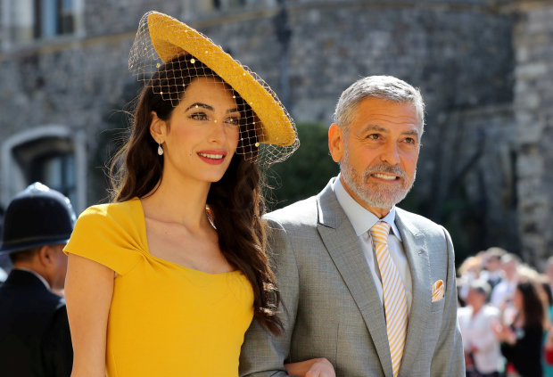 George Clooney: Meghan 'vilified' by press like Diana