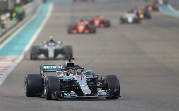 Hamilton fires F1 title warning as new Mercedes hits track