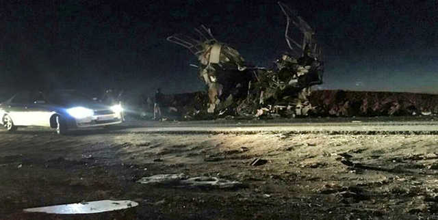 41 Guards killed in Iran suicide attack