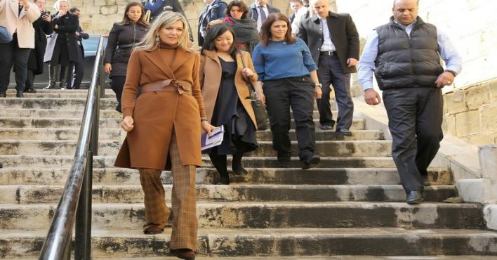 PHOTOS: Queen Maxima visits Jordan as UN chief's special envoy