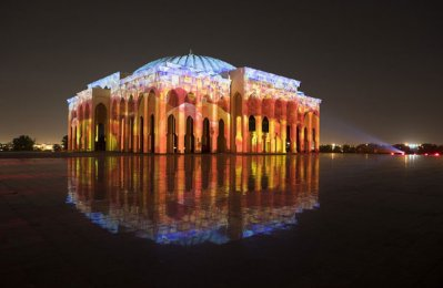 Sharjah Light Festival enthralls spectators