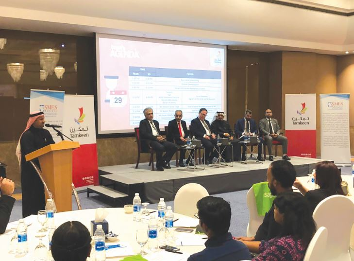 <p>A workshop on the roll-out of value-added taxes (VAT) in Bahrain and its impact on businesses and SMEs was organised by government-run business support agency Tamkeen with support from cloud accounting solutions provider Sage.</p><p>A key highlight of the event was a panel discussion moderated by Sage Middle East strategic sales manager Ibrahim Parwaz.</p><p>The panel of experts included Tamkeen's chief of planning and monitoring Dr Jarmo Kotilaine, Bahrain SMEs Society chairman Dr Abdulhasan Al Dairi and Kenz Consultancy managing partner Husam Addin Abdelhafiz.</p>