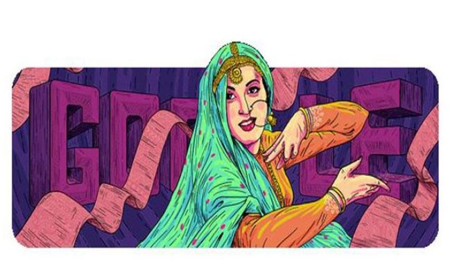 Google Doodle honours 'The Marilyn Monroe of Bollywood'