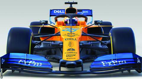 McLaren unveil new MCL34 car