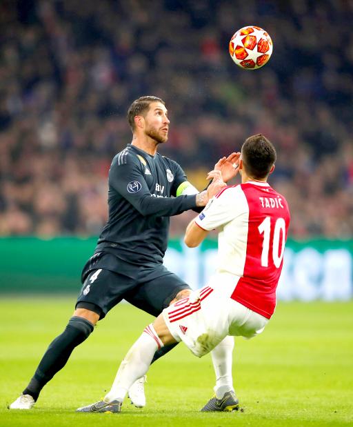 Ramos denies deliberate yellow