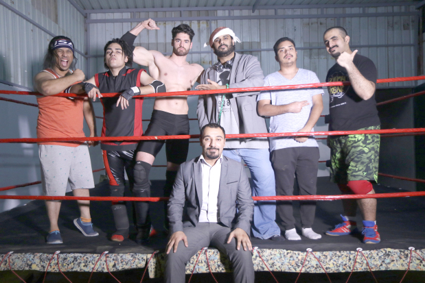 VIDEO: Bahrain's first ever independent wrestling show