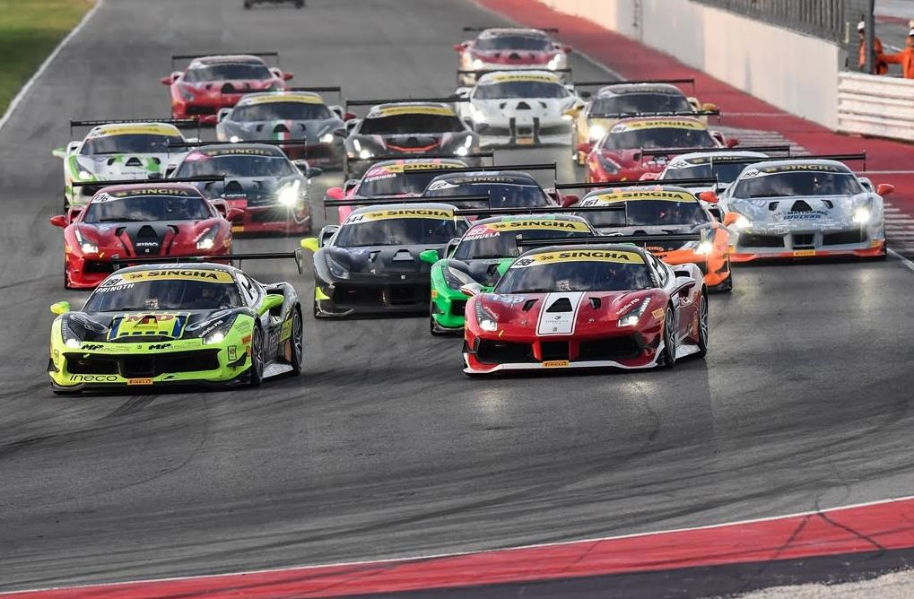 Drivers gear up for Ferrari Challenge