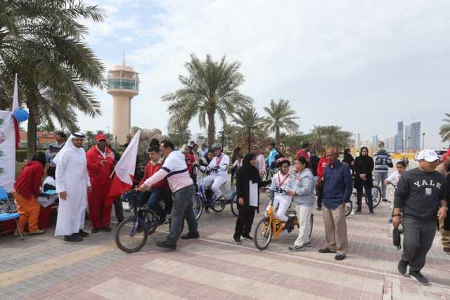 <p>Cyclists got in the saddle to raise awareness during an Annual Autism Bike Race and Family Fun Day. It was organised by Alia Centre for Early Intervention at Prince Khalifa Bin Salman Park, Hidd. Participants took part in a variety of cycling competitions, while children received instruction on riding a bike. Activities took place under the patronage of Bahrain Cycling Association president Shaikh Khalid bin Ali Al Khalifa.</p>