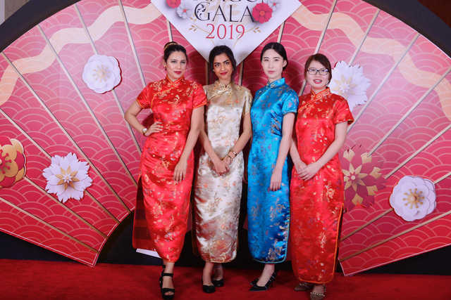 <p>A gala dinner marking Chinese New Year was hosted by Dragon City at the Gulf Hotel Bahrain Convention and Spa. A speech about last year's achievements and plans for 2019 was delivered by the mall's operating company Chinamex chairman Patrick Zheng Shou, who welcomed guests including Chinese Ambassador Anwaer and Bahraini Chinese Friendship Society president Jawad Al Hawaj, in addition to dignitaries, business partners and media representatives. The evening featured an array of traditional Chinese shows performed by schoolchildren, musicians and professional dancers. Above, guests at the event.</p>