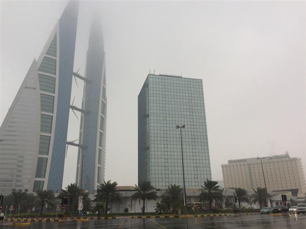 Bahrain Weather: Cloudy weather with a chance of scattered rain showers