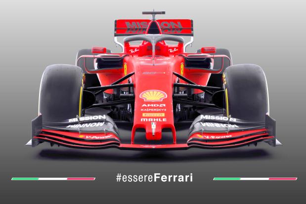 New Ferrari car unveiled