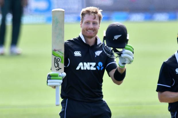 Guptill century secures ODI series for Kiwis against Bangladesh