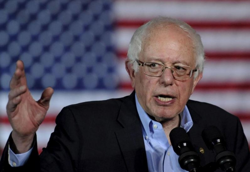 Bernie Sanders recorded presidential campaign video