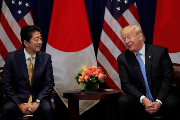 Japan's PM nominated Trump for Nobel Peace Prize on U.S. request