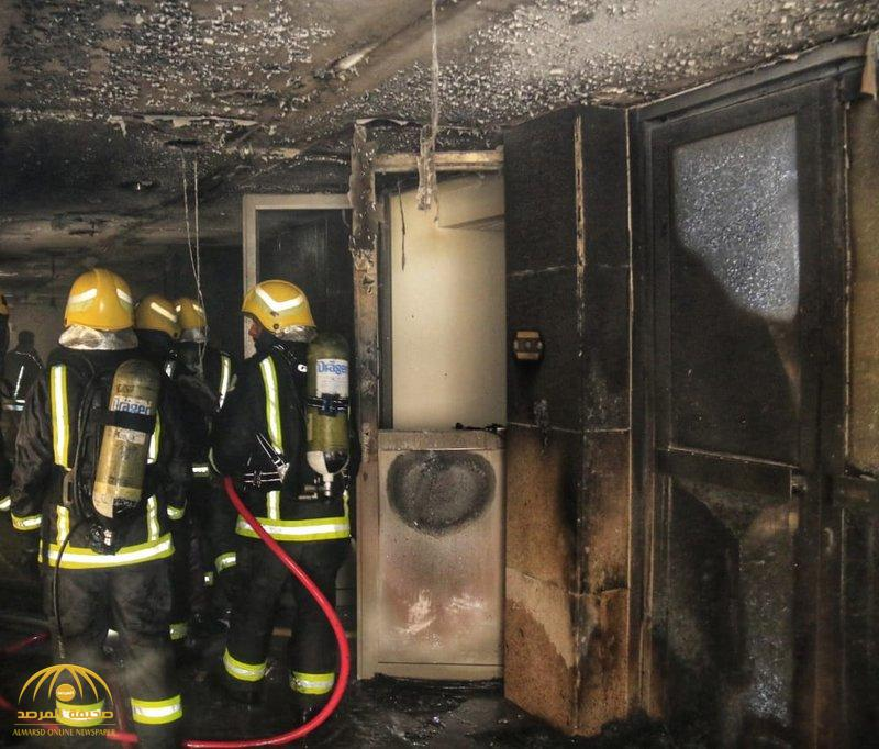 VIDEO: Massive fire breaks out in Mecca hotel