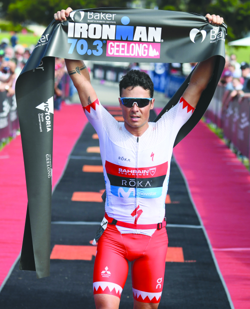 Gomez races to victory at Ironman 70.3 Geelong