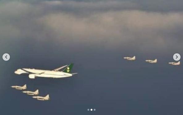 VIDEO: Pakistan Air Force Fighters escort Saudi Crown Prince