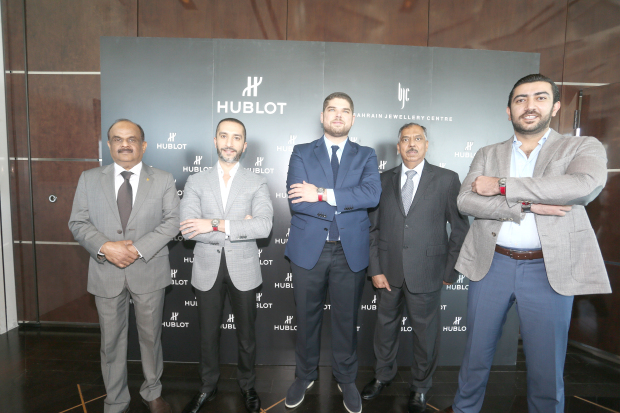 Swiss luxury watchmaker Hublot unveils new collection