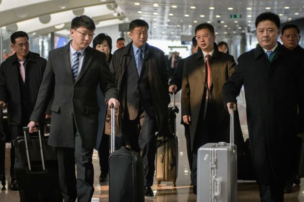 North Korean envoy en route to Hanoi ahead of Trump-Kim summit
